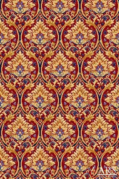 Impuls tapestry red